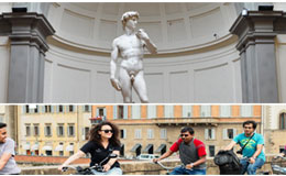 City Bike Tour in Florence and Michelangelo`s David