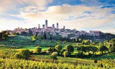 Siena, San Gimignano and Greve in Chianti with Wine Tasting